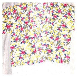Zara Floral Short Kimono